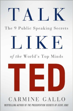 'Talk Like TED' – the art of presenting ideas in style